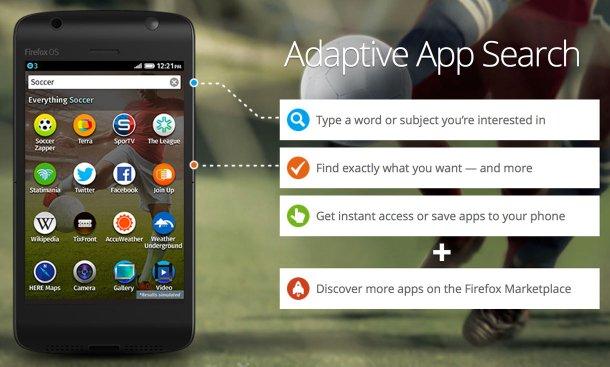 Firefox OS 1.1 es lanzado por Mozilla - ffox-os-adaptive-app-search_610x367