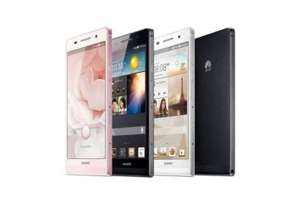 Huawei Ascend P6 es lanzado en México