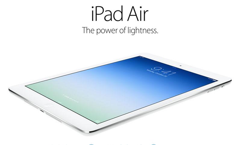 Apple presenta al nuevo iPad Air y un iPad Mini con Retina Display - ipad-air