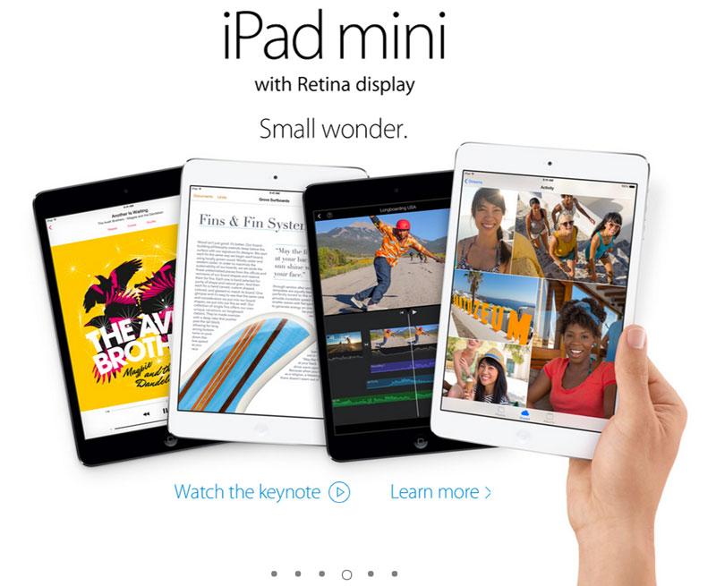 Apple presenta al nuevo iPad Air y un iPad Mini con Retina Display - ipad-mini-retina