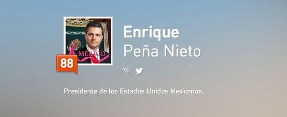 Los políticos mexicanos con más seguidores en Twitter y Facebook - klout-epn