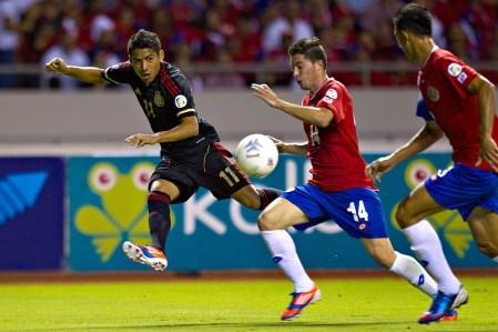 México vs Costa Rica en vivo, Eliminatorias Brasil 2014