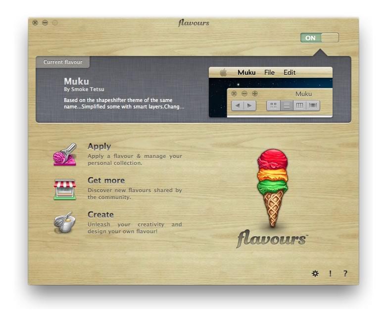 Temas para Mac OS X, aplícalos y créalos con Flavours