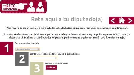 #TeRetoDiputado, una iniciativa para que los mexicanos alcen la voz ante sus «representantes»