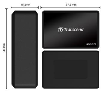 Lector de Tarjetas Transcend USB 3.0 RDF8 [Reseña] - ts-rdf8