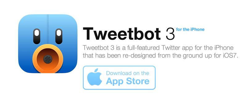 Tweetbot 3 aparece finalmente pero como nueva aplicación con un costo de 3 dólares - tweetbot-3