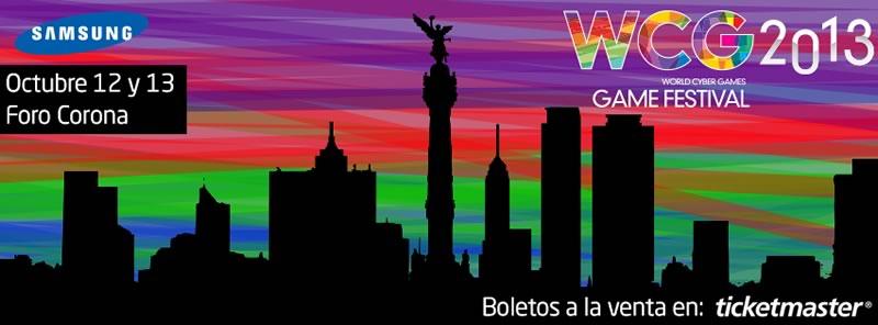 World Cyber Games México 2013 este 12 y 13 de Octubre - wgc-mexico