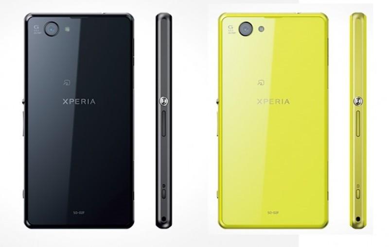 Sony presentó el Xperia Z1 Mini en Japón