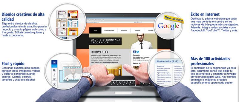 Crea tú mismo la página web para tu negocio con 1&1 MyWeb - 11myweb