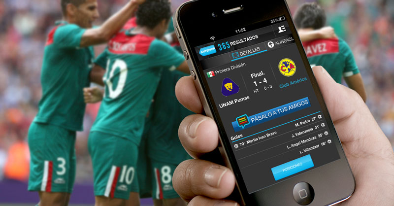 Sigue a tus equipos y ligas deportivas a todo momento con 365Scores [Reseña] - 365Scores-iPhone1