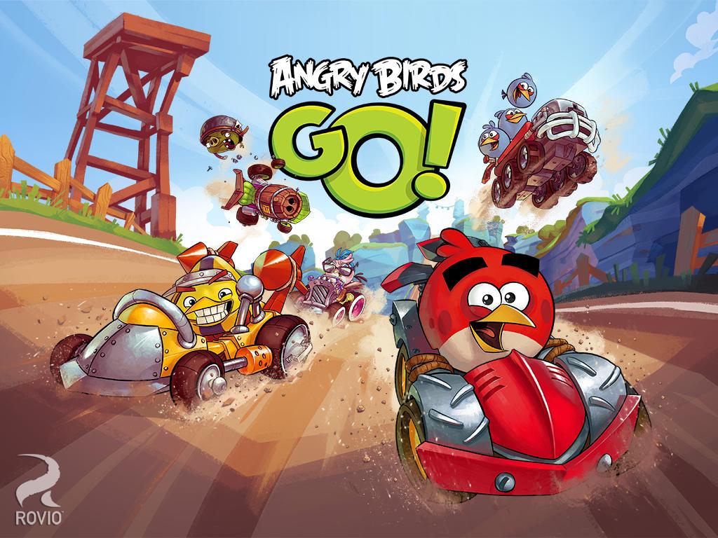 Angry Birds Go! el juego de carreras de los pájaros de Rovio disponible en la App Store de Nueva Zelanda - Angry-Birds-Go