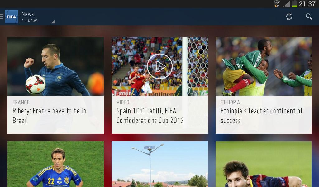 FIFA lanza su aplicación oficial para iOS y Android - FIFA-iOS-Android