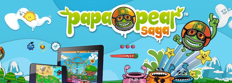 ¿Cansado de Candy Crush? Entonces prueba Papa Pear Saga - Papa-Pear-Saga