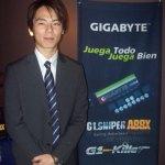 Tarjeta madre G1.Sniper A88X para gamers presentada por Gigabyte - Santiago_Huang_country_manager