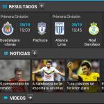 Sigue a tus equipos y ligas deportivas a todo momento con 365Scores [Reseña] - Screenshot_365Scores-Dashboard