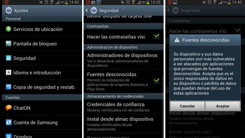 Cómo instalar la Tienda de Aplicaciones para Android de Amazon - aplicaciones-desconocidas-android-800x450