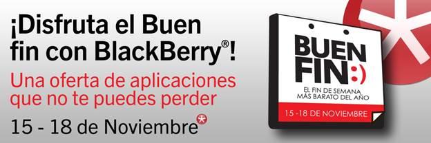 Ofertas del Buen Fin 2013 de BlackBerry - blackberry-buen-fin