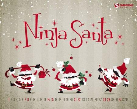 Calendario de Diciembre: Más de 40 fondos de navidad con o sin calendario para decorar tu escritorio