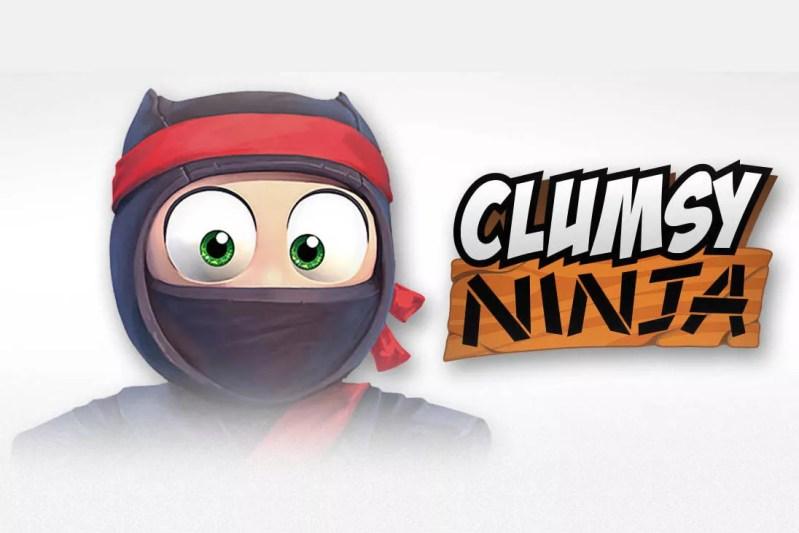 Entrena y juega con un Ninja en tu iPhone con Clumsy Ninja - clumsy-ninja-ios