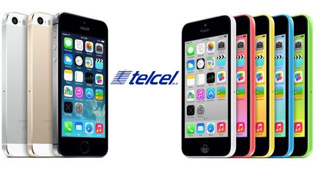 Precios del iPhone 5S y 5C con Telcel - iPhone-5S-5C