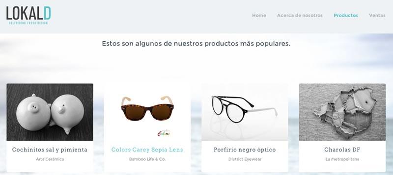 lokal d tienda online disenadores Lokal D, productos de diseñadores mexicanos directo a tu puerta
