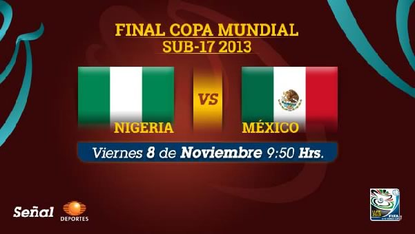 mexico vs nigeria sub 17 México vs Nigeria en vivo, Final Mundial Sub 17