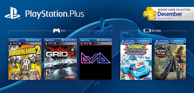 Borderlands 2 y GRID 2 serán gratuitos este mes para usuarios de PlayStation Plus - playstation-plus-instant-games-collection