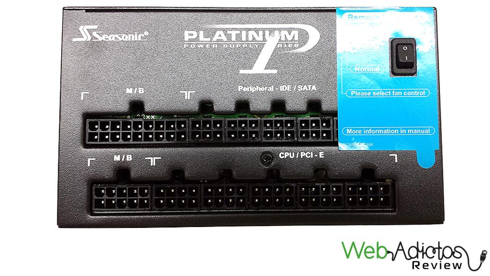 Seasonic Platinum SS-860XP2 Active PFC F3 (Platinum-860) [Reseña] - 115