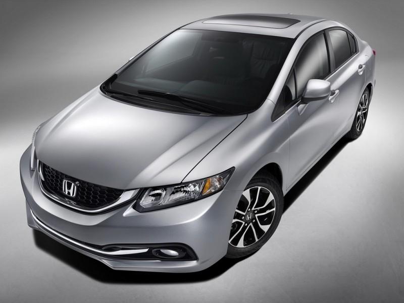 Honda Civic 2014 vendrá con el renovado Honda Link que se conectará con tus smartphones - 2014-Honda-Civic-Sedan-Body-Redesigns-800x600