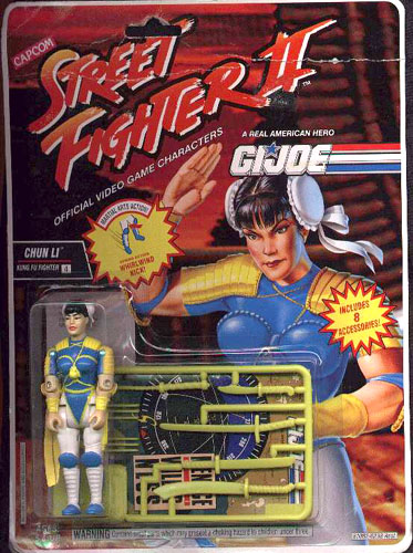 Extrañas figuras de G.I. Joe Street Fighter II - 63