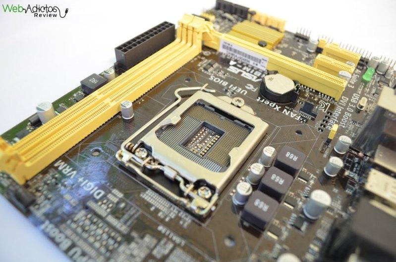 Tarjeta madre ASUS H81M-A para procesadores Intel de 4ta generación [Reseña] - ASUS-h81M-A-4