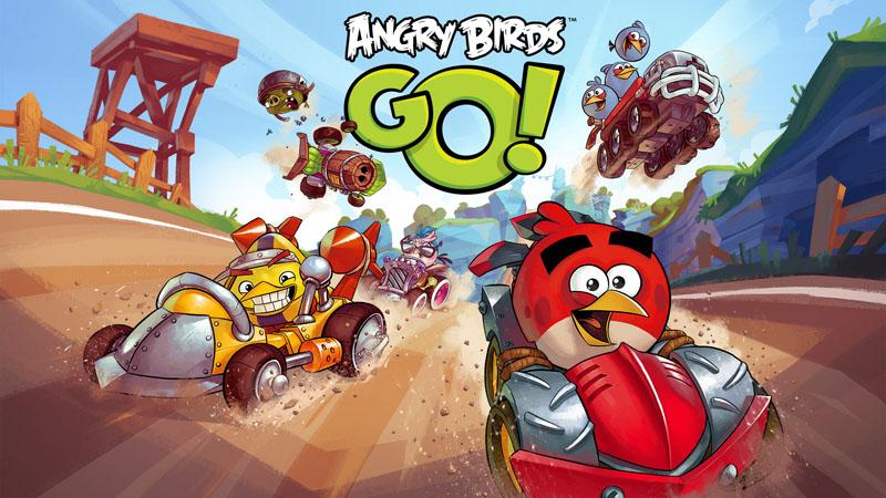 Angry Birds Go!, el juego de carreras de Rovio disponible para iOS, Android, Windows Phone 8 y BlackBerry - Angry-Birds-Go-keyart