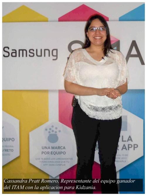Kidzania e ITAM los ganadores del Reto Samsung Smart TV powered by Telcel 2013 - Cassandra-Pratt-Romero