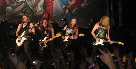 Iron Maiden elige dar conciertos en los países que más descargan su música