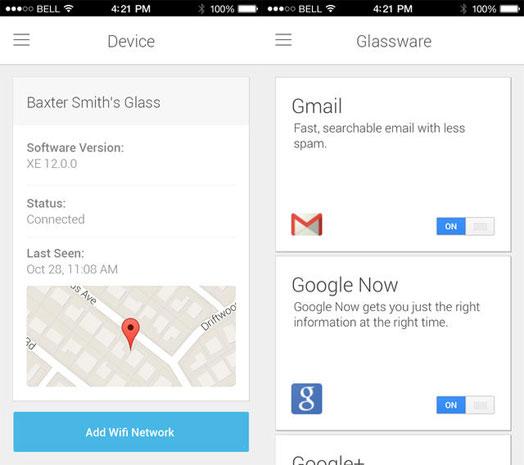 Google publica aplicación para configurar sus Glass en iOS - MyGlassiOS