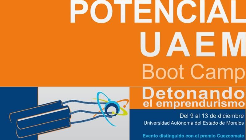 UAEM y TechBA convocan al campamento emprendedor Potencial UAEM - UAEM-bootcamp