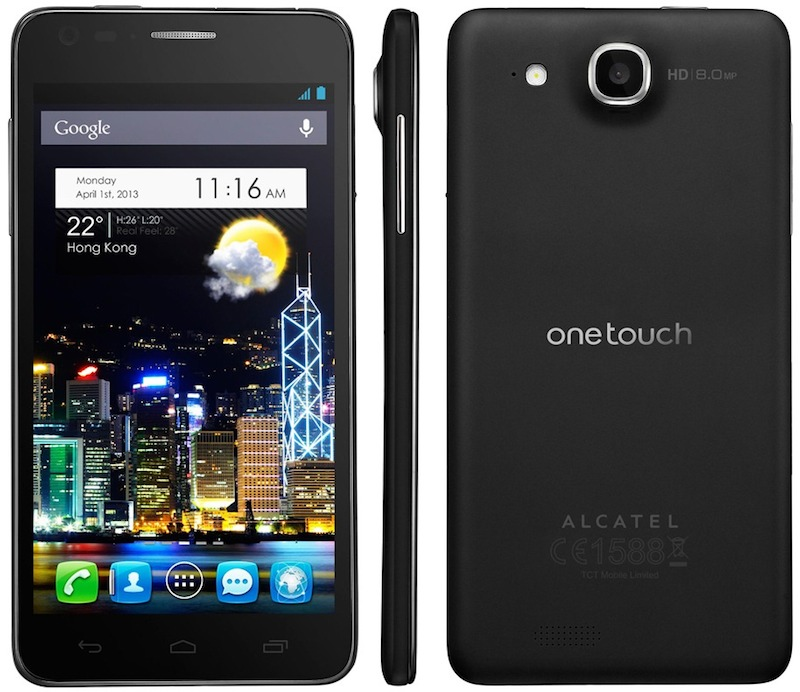 Mejores smartphones de gama media que puedes regalar esta Navidad - alcatel-one-touch-idol-ultra