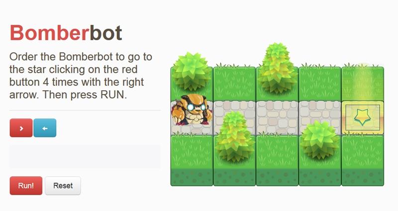 Bomberbot, el juego que acerca la programación a los niños - bomberbot-programacion