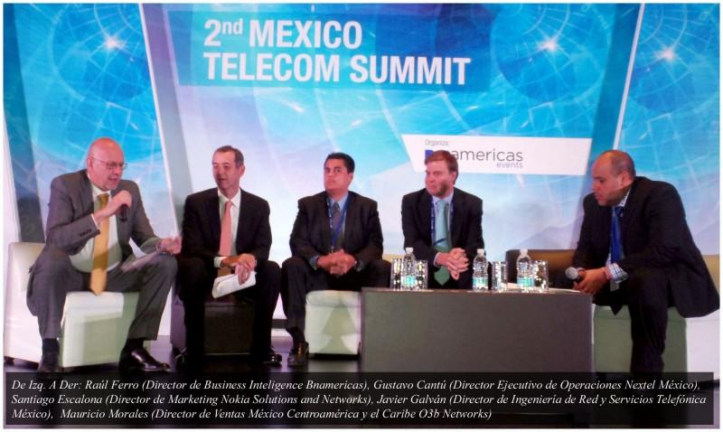 2nd México Telecom Summit y la creciente demanda en el consumo de datos - mesa-redonda-tecnologia-4G-800x478