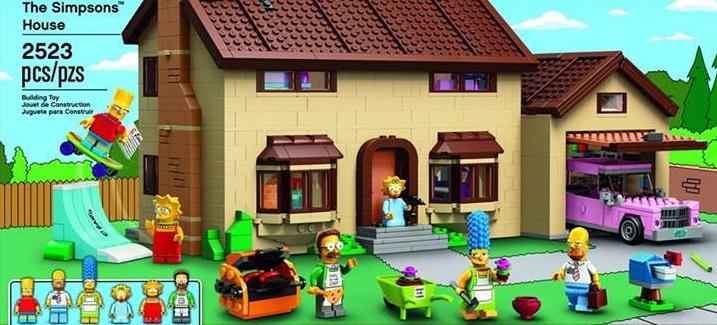 13 copia LEGO de los Simpsons presentado oficialmente por LEGO