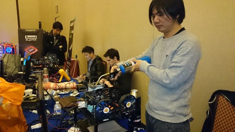 Extreme Overclock organizado por GIGABYTE en el CES 2014 realizado con éxito - Extreme-OverClock-Gigabyte0013