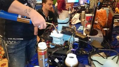 Extreme Overclock organizado por GIGABYTE en el CES 2014 realizado con éxito - Extreme-OverClock-Gigabyte0043
