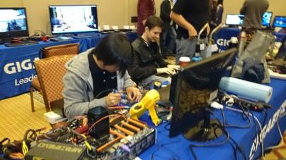 Extreme Overclock organizado por GIGABYTE en el CES 2014 realizado con éxito - Extreme-OverClock-Gigabyte0124