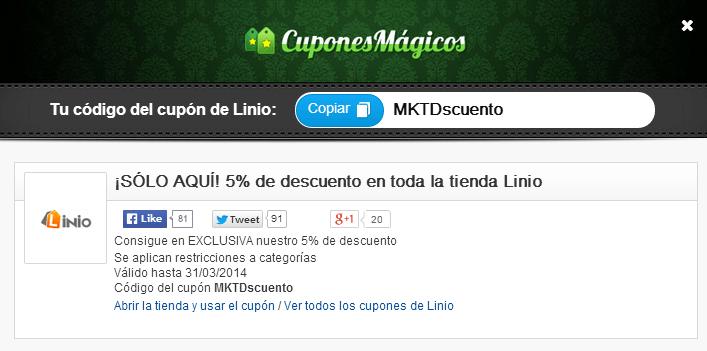 Cupones de descuento para compras en línea llegan a México gracias a Cupones Mágicos - Imagen2