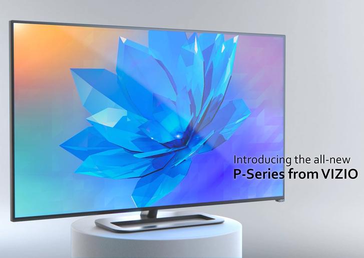 Vizio presenta los primeros televisores 4K a menos de $999 dólares - P-Series-Vizio-4K