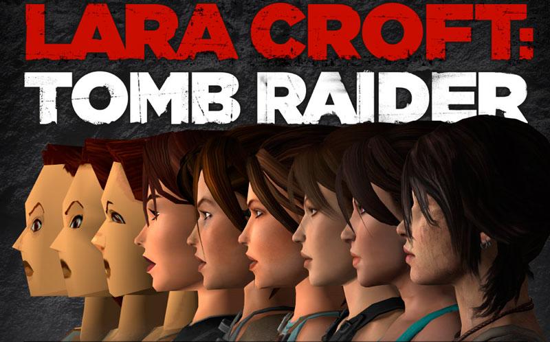 Los 10 cambios de Lara Croft a través de los años [Tomb Raider] - Tomb-Raider