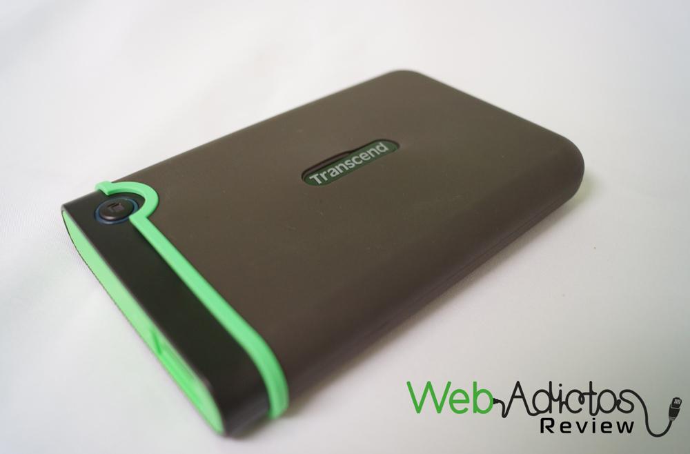 Disco Duro Transcend StoreJet 25M3 USB 3.0 de 1 TB [Reseña] - Transcend-25M3-2