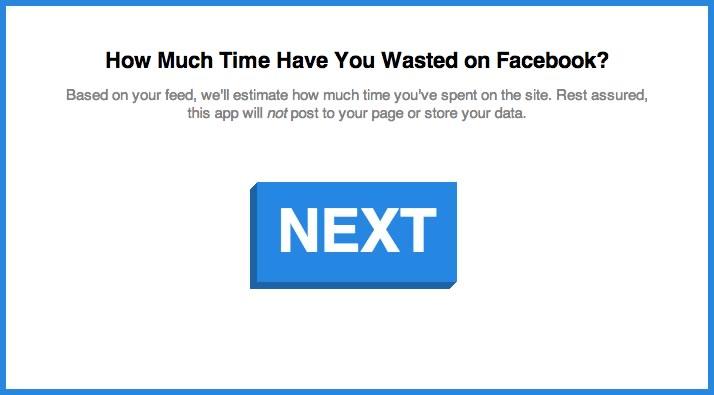 Conoce cuánto tiempo has gastado en Facebook desde que te registraste - calculadora-tiempo-gastado-facebook