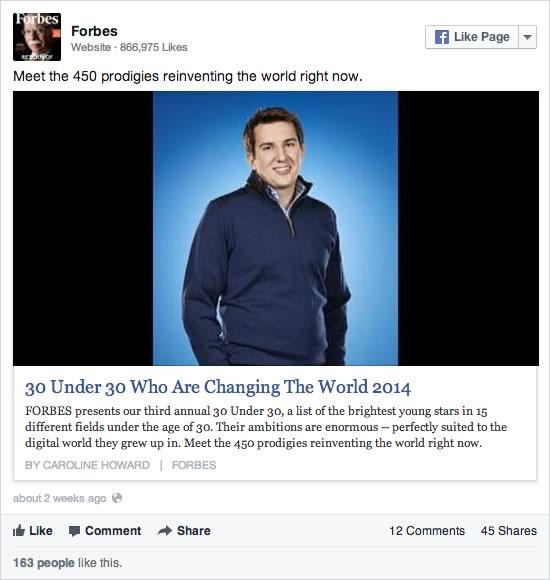 Las páginas en Facebook deben evitar publicaciones de sólo texto - compartir-enlaces-facebook-2