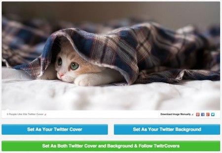 Encabezados y fondos para Twitter gratis en TwitrCovers